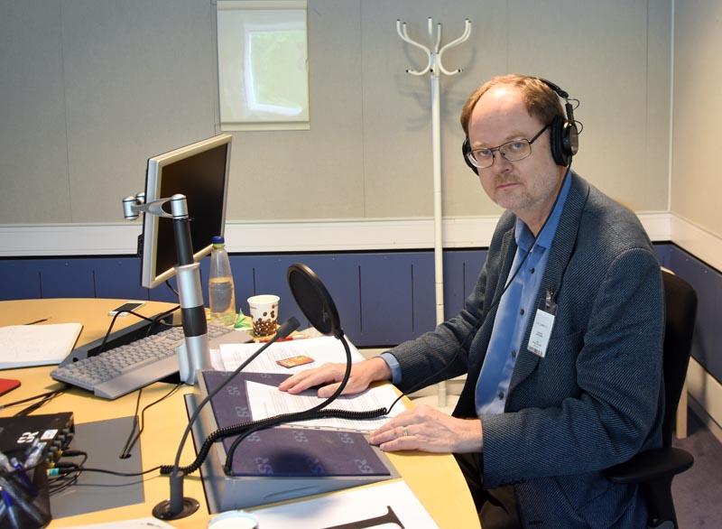 Clas Svahn - Radioinspelning